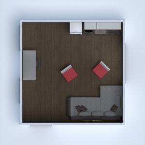 планировки квартира дом мебель кухня офис 3d