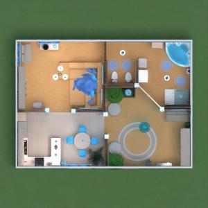 floorplans wohnung mobiliar dekor do-it-yourself badezimmer wohnzimmer küche beleuchtung haushalt studio eingang 3d