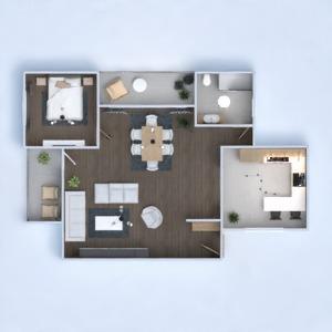floorplans appartement maison meubles décoration salon 3d