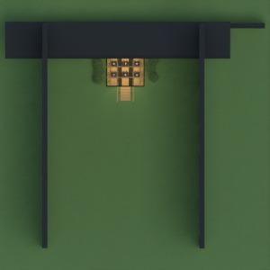 floorplans extérieur eclairage 3d