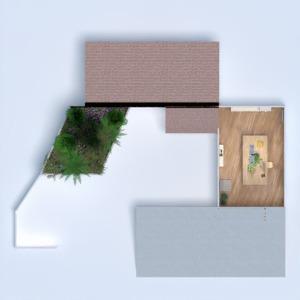 planos casa muebles decoración dormitorio 3d