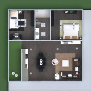 floorplans mieszkanie taras meble wystrój wnętrz pokój dzienny garaż kuchnia na zewnątrz oświetlenie krajobraz jadalnia architektura wejście 3d