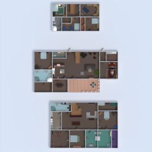 floorplans house furniture decor bathroom bedroom living room garage kitchen kids room office lighting household 3d