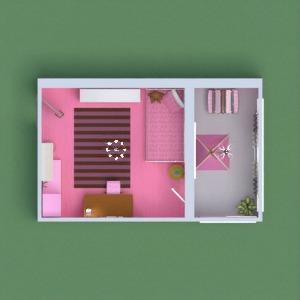 floorplans 独栋别墅 装饰 卧室 儿童房 结构 3d