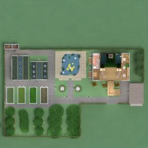 floorplans haus mobiliar dekor do-it-yourself schlafzimmer garage küche outdoor beleuchtung landschaft architektur lagerraum, abstellraum eingang 3d