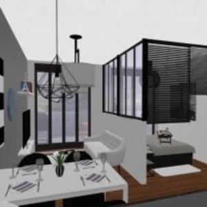 floorplans butas namas terasa baldai dekoras vonia miegamasis virtuvė eksterjeras namų apyvoka valgomasis аrchitektūra 3d