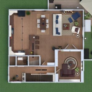 floorplans wohnung haus badezimmer schlafzimmer wohnzimmer küche esszimmer 3d