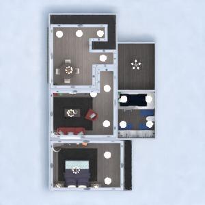 planos apartamento muebles decoración bricolaje cuarto de baño dormitorio 3d