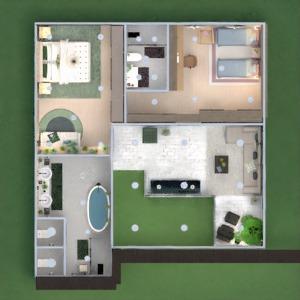 floorplans haus mobiliar dekor beleuchtung architektur 3d