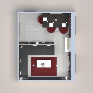 floorplans maison salle à manger 3d