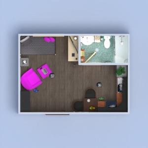 progetti appartamento monolocale 3d