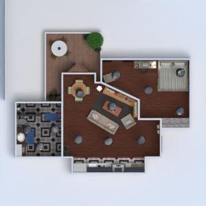 planos apartamento terraza muebles cuarto de baño dormitorio salón cocina comedor arquitectura trastero 3d