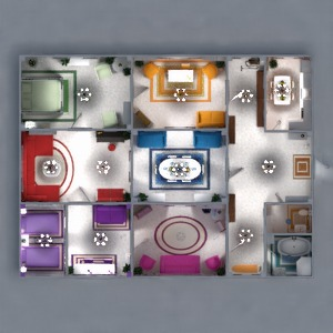progetti appartamento arredamento decorazioni bagno camera da letto saggiorno cucina cameretta illuminazione rinnovo famiglia sala pranzo ripostiglio vano scale 3d