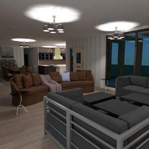 floorplans casa varanda inferior mobílias decoração banheiro 3d