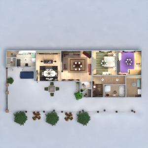 floorplans house terrace furniture decor diy outdoor renovation architecture 3d