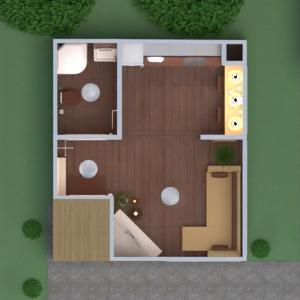 floorplans casa varanda inferior mobílias decoração faça você mesmo banheiro quarto cozinha área externa iluminação utensílios domésticos despensa estúdio patamar 3d