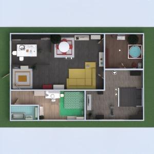 floorplans apartamento quarto 3d