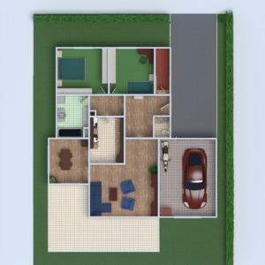 floorplans house furniture bathroom bedroom living room garage kids room 3d