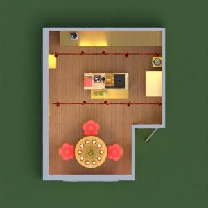 planos casa cocina hogar 3d