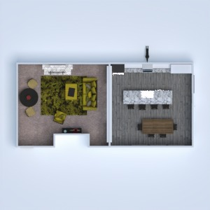 floorplans house furniture decor dining room 3d