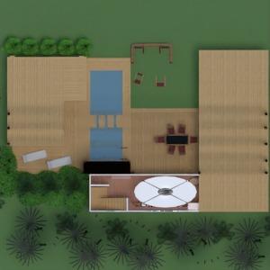 floorplans casa mobílias decoração faça você mesmo banheiro quarto quarto cozinha área externa quarto infantil iluminação utensílios domésticos sala de jantar arquitetura patamar 3d