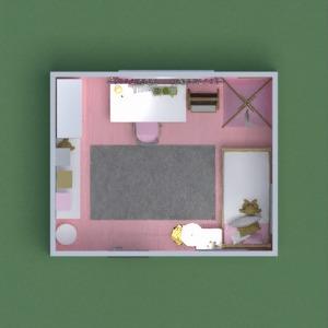 floorplans 独栋别墅 家具 装饰 卧室 儿童房 3d