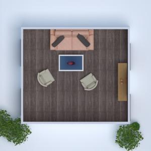 floorplans butas namas baldai dekoras svetainė 3d