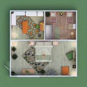 floorplans butas vonia miegamasis sandėliukas 3d