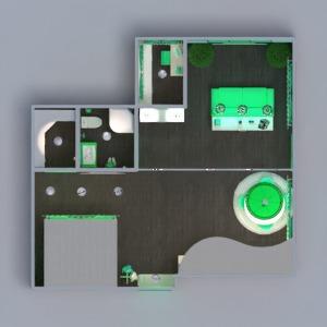 floorplans appartement maison meubles décoration diy salle de bains chambre à coucher salon cuisine eclairage espace de rangement studio entrée 3d