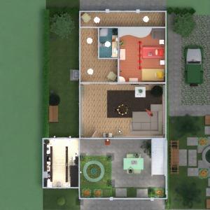 floorplans casa decoração paisagismo 3d