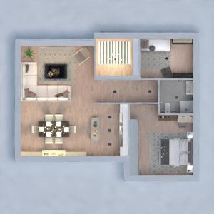 floorplans wohnung haus schlafzimmer wohnzimmer esszimmer 3d