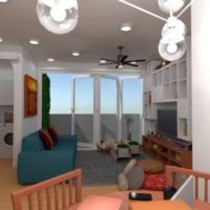 planos apartamento muebles decoración bricolaje 3d