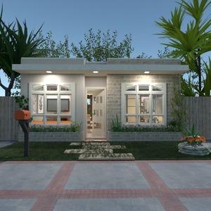 floorplans casa banheiro quarto cozinha área externa 3d