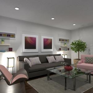 floorplans baldai dekoras svetainė apšvietimas sandėliukas 3d