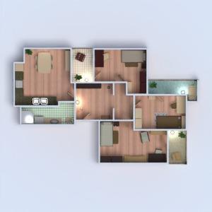 floorplans apartment terrace furniture decor bathroom bedroom kitchen kids room office 3d