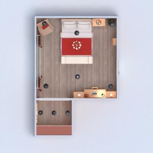 planos muebles decoración dormitorio 3d