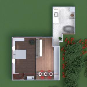 floorplans apartamento mobílias faça você mesmo banheiro quarto quarto cozinha iluminação utensílios domésticos arquitetura estúdio patamar 3d