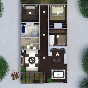 floorplans maison terrasse meubles décoration salle de bains chambre à coucher salon garage cuisine extérieur eclairage paysage maison salle à manger architecture 3d
