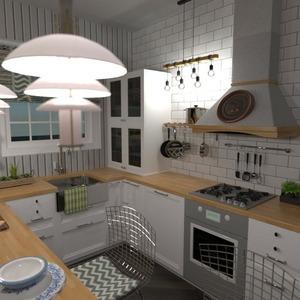 floorplans namas miegamasis svetainė virtuvė eksterjeras 3d