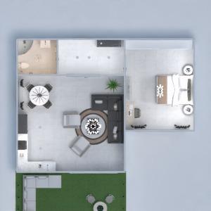 floorplans haus mobiliar badezimmer wohnzimmer beleuchtung 3d