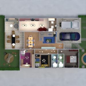 floorplans haus terrasse mobiliar dekor do-it-yourself badezimmer schlafzimmer wohnzimmer garage küche outdoor beleuchtung landschaft haushalt esszimmer lagerraum, abstellraum studio 3d