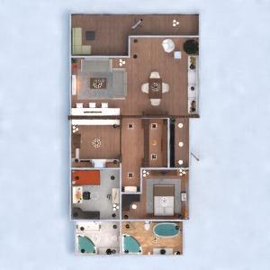 progetti appartamento veranda arredamento decorazioni angolo fai-da-te bagno camera da letto cucina illuminazione famiglia architettura 3d
