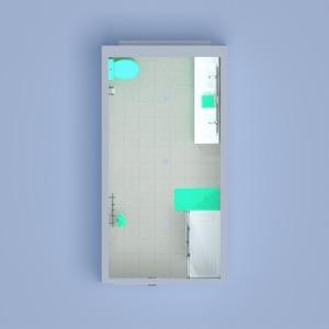 planos cuarto de baño 3d