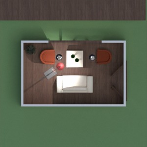 planos casa terraza 3d