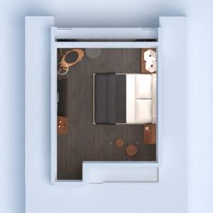 floorplans apartamento mobílias decoração quarto 3d