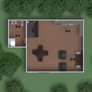 floorplans house furniture decor bedroom living room kitchen outdoor lighting landscape dining room storage 3d