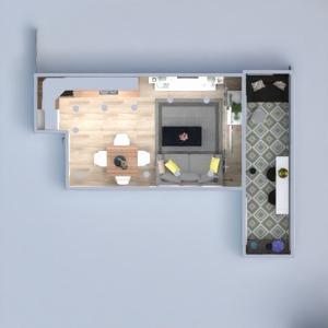 progetti appartamento casa arredamento decorazioni saggiorno cucina illuminazione rinnovo ripostiglio 3d
