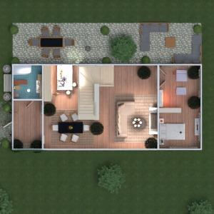 floorplans apartamento casa varanda inferior mobílias decoração faça você mesmo quarto quarto garagem cozinha quarto infantil escritório sala de jantar arquitetura 3d