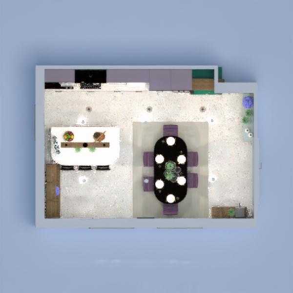 floorplans house decor kitchen lighting dining room 3d