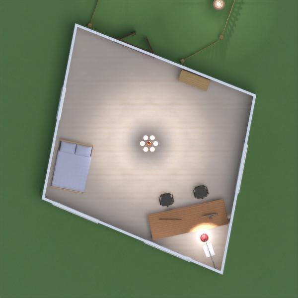 floorplans namas svetainė garažas virtuvė prieškambaris 3d